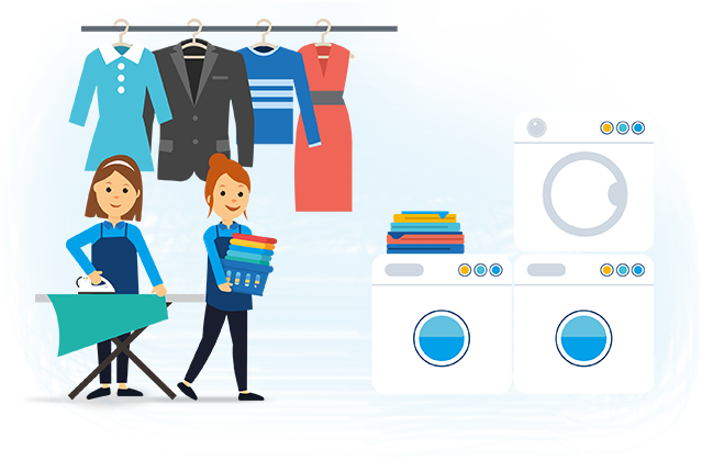 Drop-off laundry & Dry-cleaning service